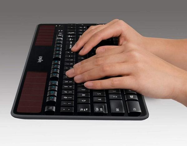 Logitech Solar Recharging Wireless Keyboard