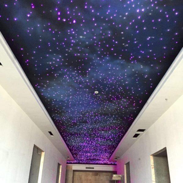 LED Fiber Optic Star Ceiling Kit