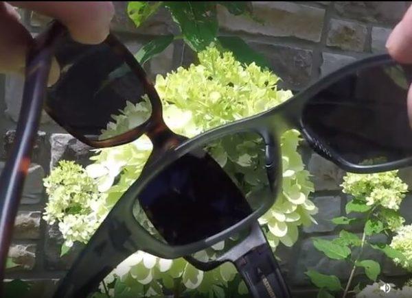 Polarized Sunglasses to Reduce Glare