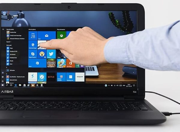 Turn Laptop Screen into Touchscreen