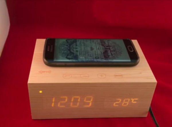 Multi-Function Stereo Bluetooth Wood Speaker