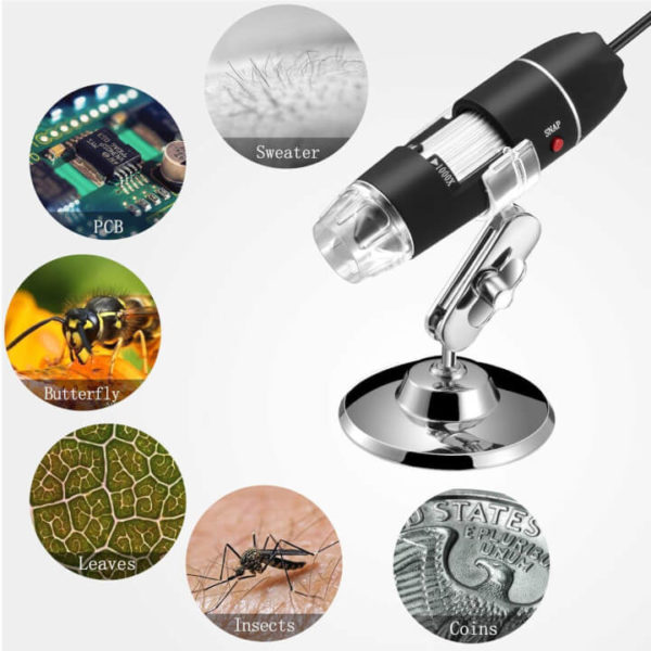 1000X Magnification USB Microscope