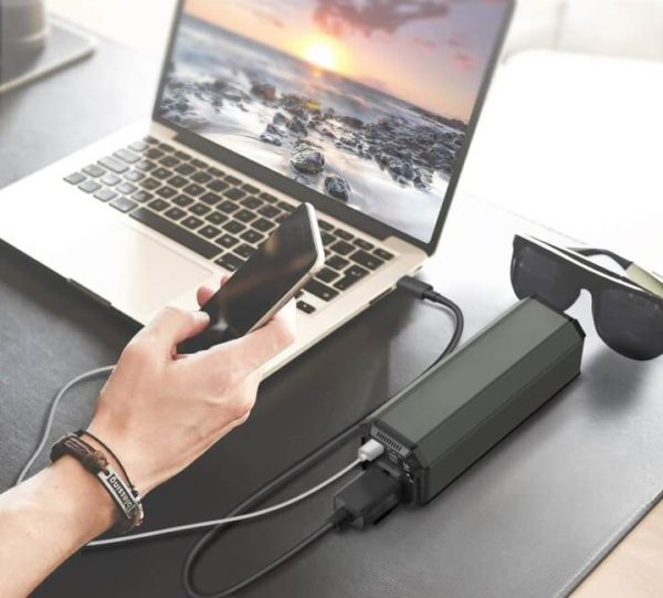 Portable 31200mAh 100W Power Bank for Laptop