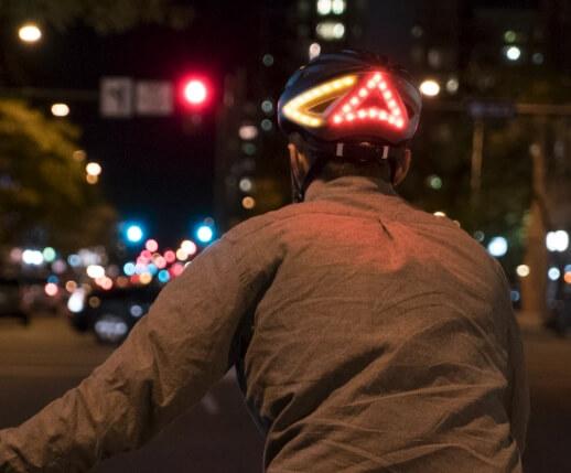 Smart Bike Helmet with Turn Signals & Brake Lights