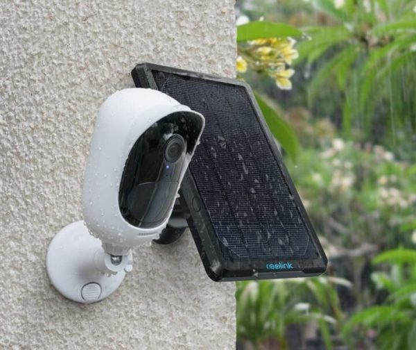Solar-Powered Wireless Security Camera