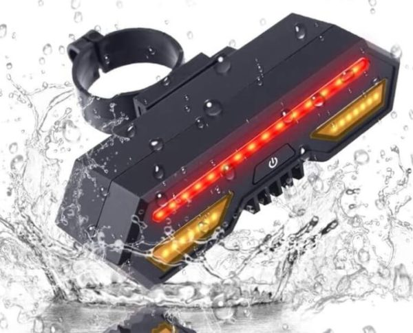 Wireless Tail Light Signals for Bike