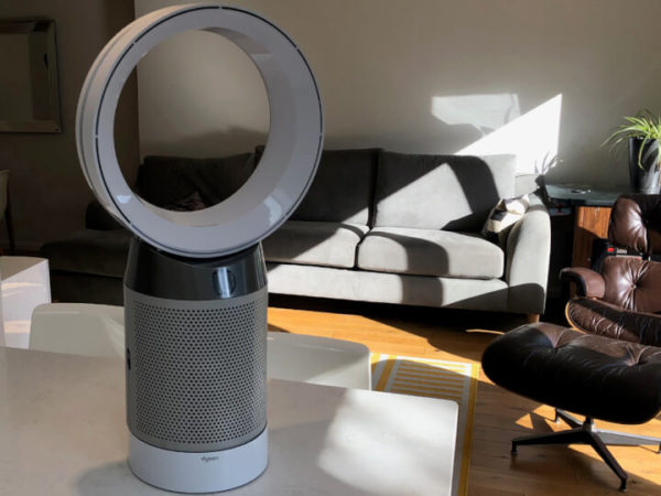 Smart Air Purifier and Fan WiFi-Enabled Device for Cleaner Room