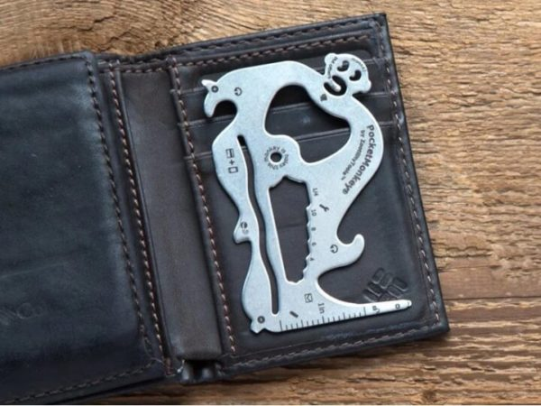 Stainless Steel Bottle Opener Fits into Wallet