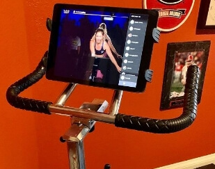 Sports Equipment Tablet Holder