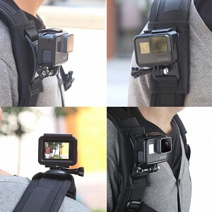 Backpack Strap for Any Sport Camera