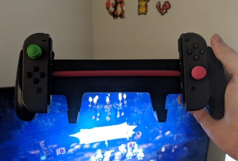 Comfortable Nintendo Switch Grip