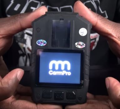 Full-Featured Police Body Camera