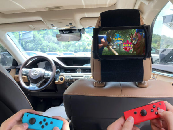 Car Headrest Mount for iPad/Nintendo Switch/Kindle