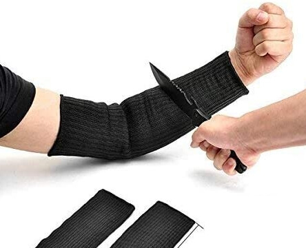 Arm Protector Sleeve from Knife