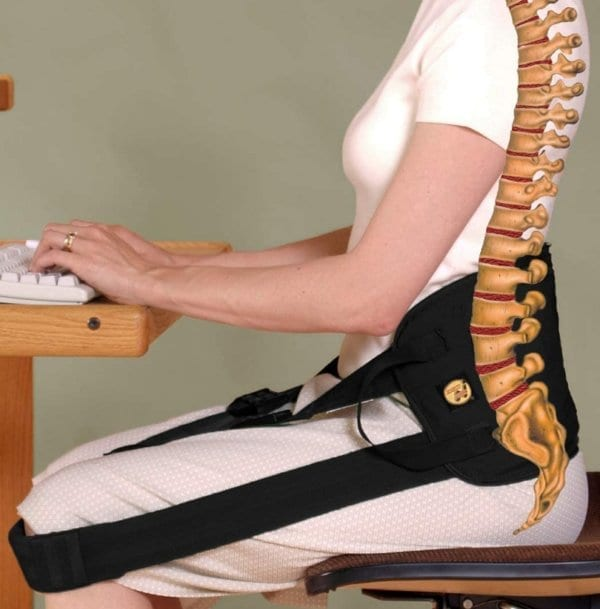 Back Support System: Helps Relief Back Pain