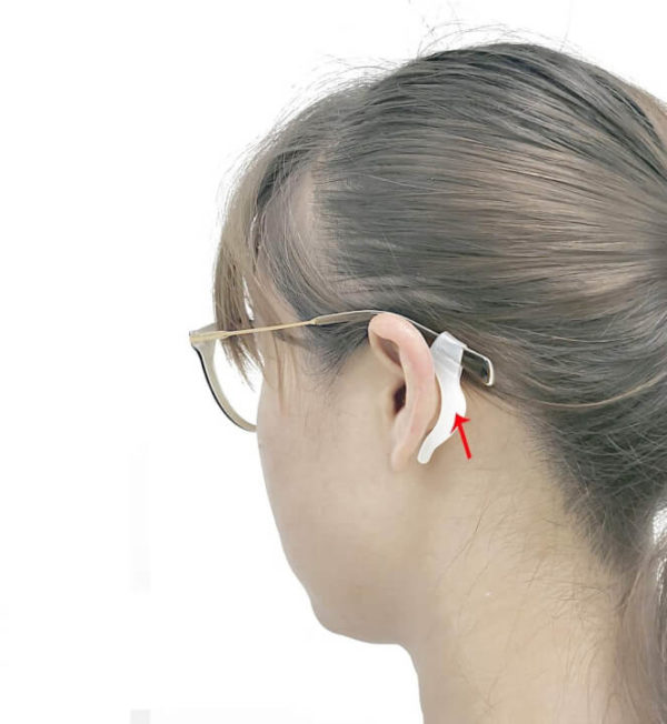 Ear Hook for Glasses, Preventing it From Falling