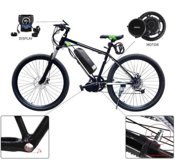E-Bike Conversion Kit: Turn Any Bike into Electric Bike