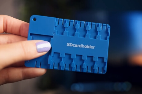 SD Card Holder That Fits into Wallet