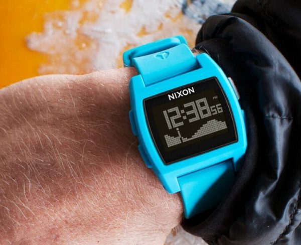 Water-Resistant Watch with Real-Time Tides Information