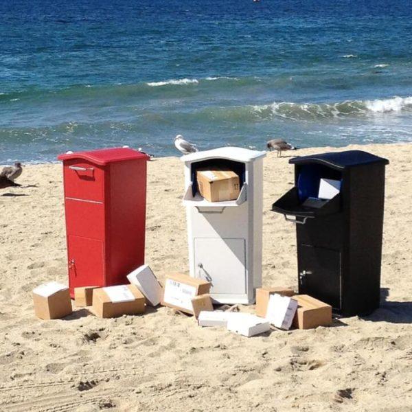 Anti-theft Outdoor Package Locker Box