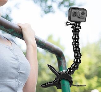 Tree/Sport Equipment Gooseneck Mount for GoPro