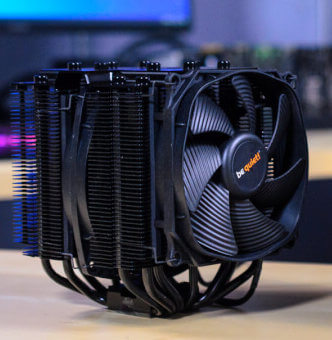 Silent CPU Cooler with Great Performance