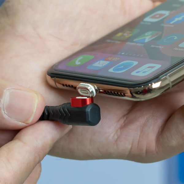 Military-Grade Magnetic Charging Cable