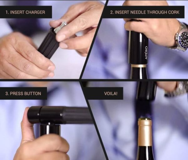 The Worlds Fastest Wine Opener
