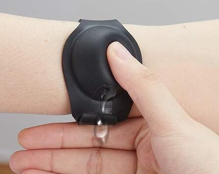Wearable Hand Sanitizer Dispenser