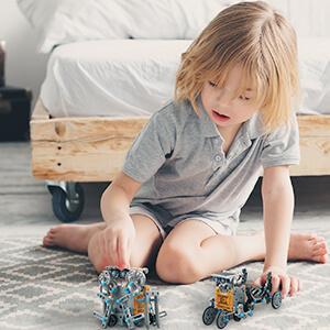 Solar-Powered Robot Kit