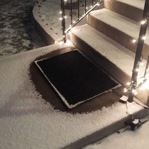 Snow Melting Door Mat
