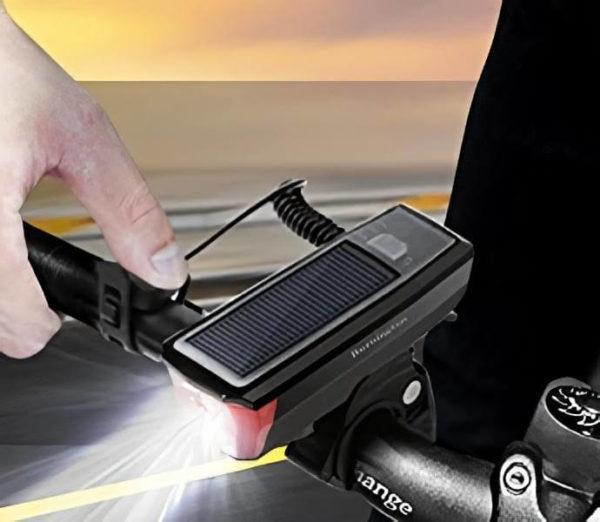 Solar Powered Bike Lights